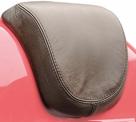 Vespa Rückenlehne aus Leder, braun