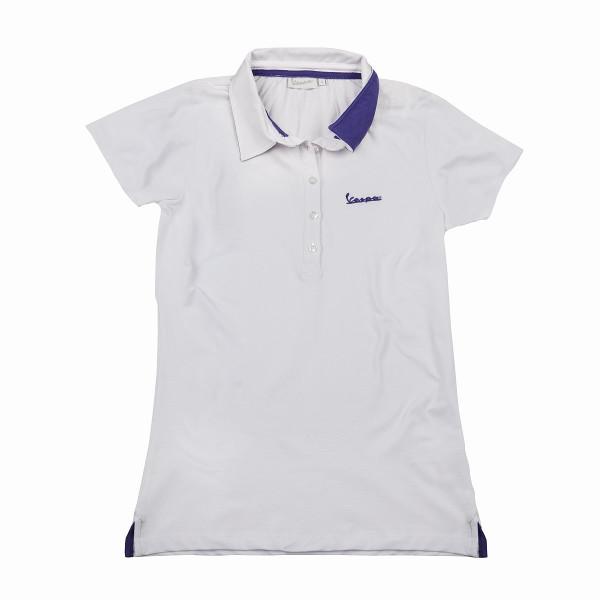 "Poloshirt VESPA Damen ""VESPA LOGO"" weiß Gr.L"