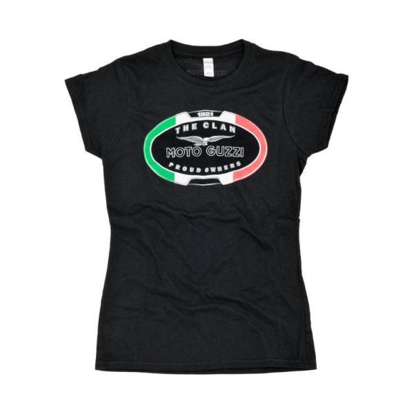 T-Shirt MOTO GUZZI Damen - THE CLAN