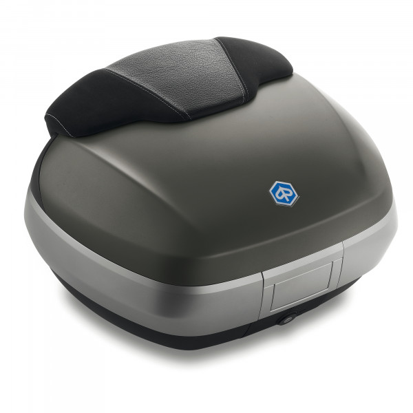 Topcase 50 Lit. Grigio Opaco (785/A) MP3 500ie SPORT LT ABS E4 ab Bj. 2018-