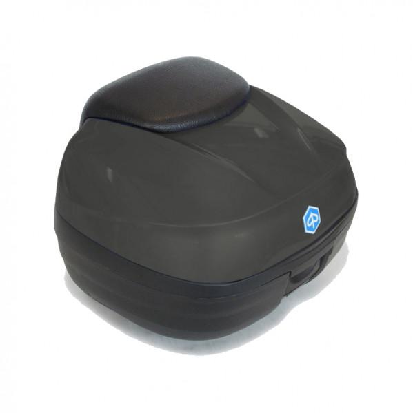 Topcase 37 Lit. Grigio Opaco (785/A) MP3 500ie SPORT LT ABS E4 ab Bj. 2018-
