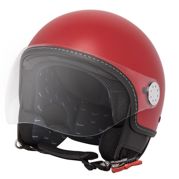 Jet-Helm VESPA VISOR 3.0 - rosso passione R7 (894) Gr.XL