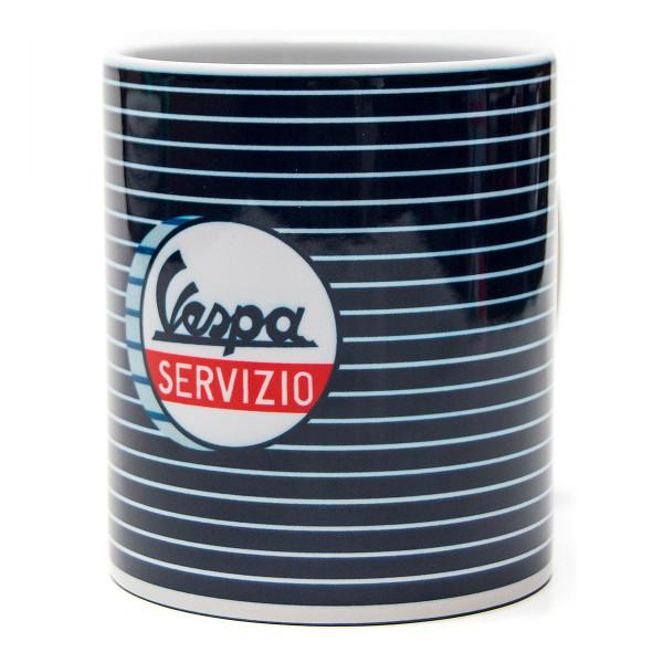 Häferl - VESPA Servizio blau gestreift