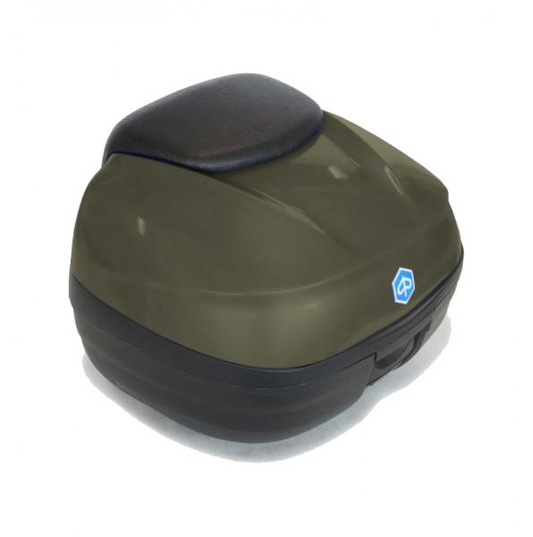 Topcase 37 Lit. Verde Opaco (333/A) MP3 500ie SPORT LT ABS E4 ab Bj. 2018-
