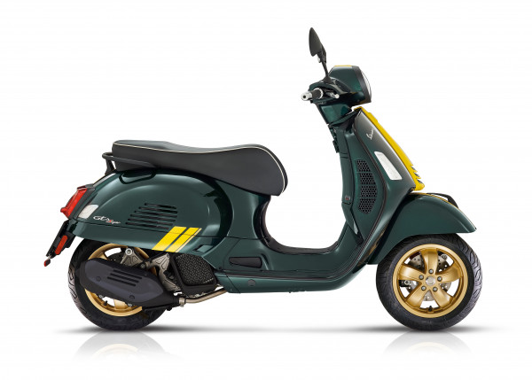 Vespa GTS 125 Racing Sixties E5