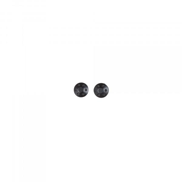 Spiegel Abdeckungen Spiegelmontageloch V7, schwarz