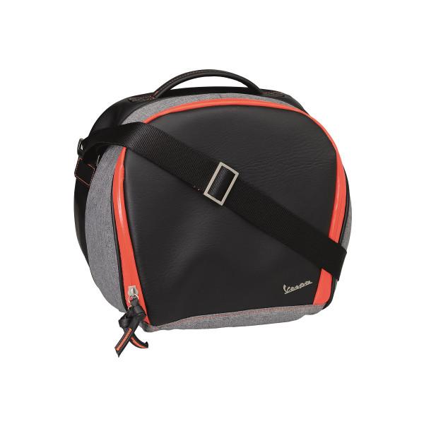 Gepäcksystem Innentasche für VESPA 42 Lit. Topcase, schwarz/orange