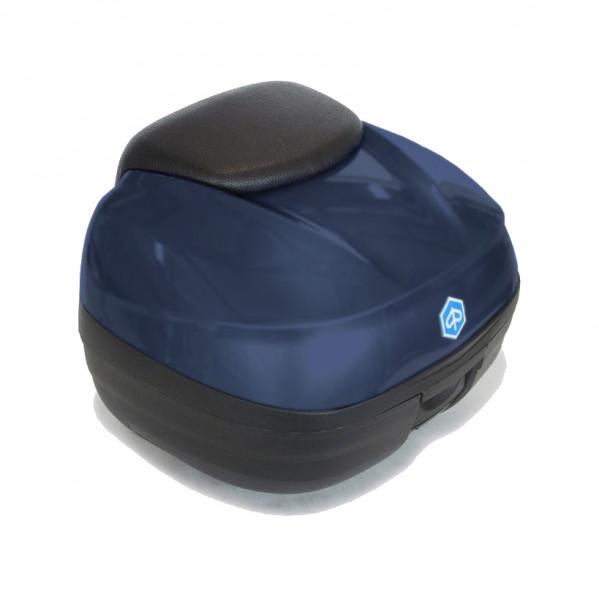 Topcase 37 Lit. Blu Opaco (290/A) MP3 500hpe Sport Advanced LT ABS/ASR E4 ab Bj. 2019-