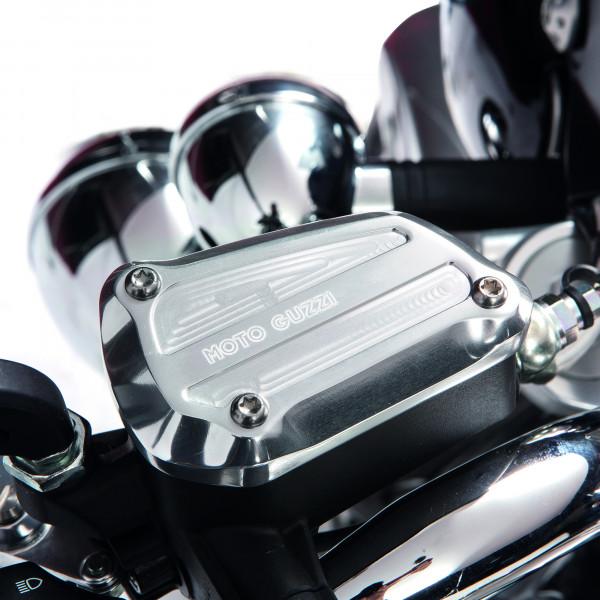 Brems-/Kupplungszylinder Deckel silber