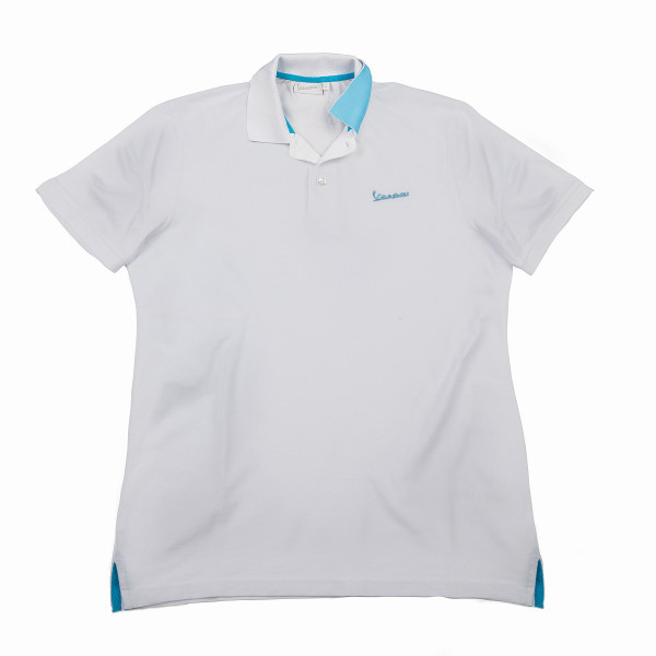 "Poloshirt VESPA Herren ""VESPA LOGO"" weiß Gr.XL"