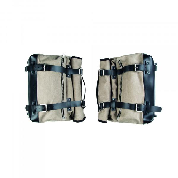 Packtaschen Textil V7 III/V9/Audace Textil, beige