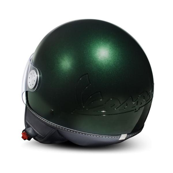 "Jet-Helm Vespa ""Visor 3.0"" verde british 349/A"