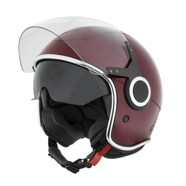"Jet-Helm Vespa ""VJ"" bordeaux 880"