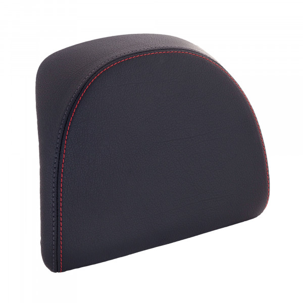Rückenpolster schwarz mit roter Naht für 32 Lit. Topcase MEDLEY S/NEW LIBERTY S ie E4 Ab Bj.2017-