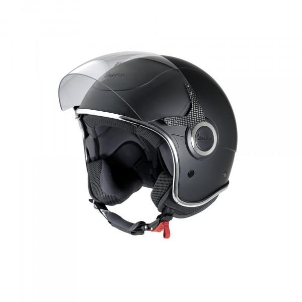 """Jet-Helm Vespa """"VJ"""" schwarz matt"""