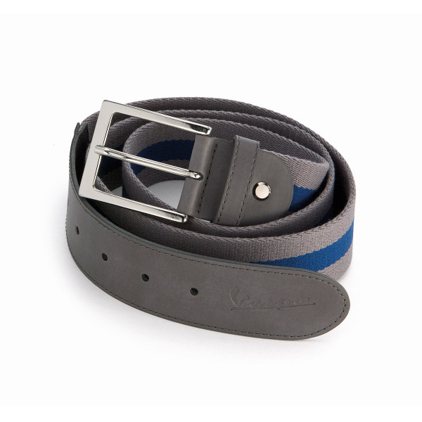 Gürtel - VESPA grau/blau