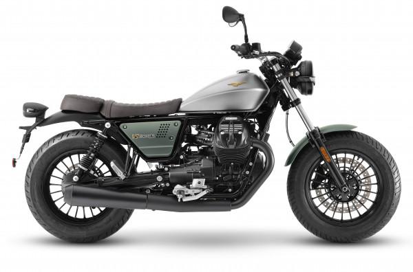 Moto Guzzi V9 Bobber Centenario E5