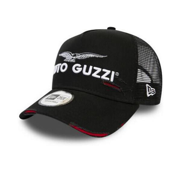 Kappe MOTO GUZZI A-Frame Trucker Worn Look