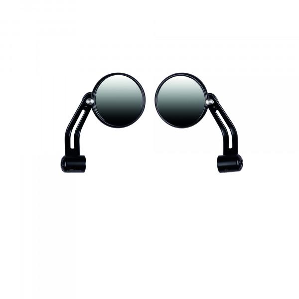 Spiegelset V7 Aluminium matt-schwarz